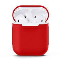 Чехол ShamanShop Silicone Case (Red) для AirPods