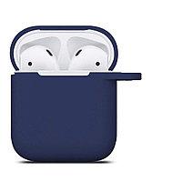 Чехол ShamanShop Silicone Case (Dark Blue) для AirPods