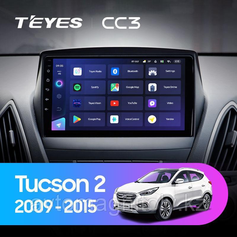 Автомагнитола Teyes CC3 4GB/64GB для Hyundai Tucson 2 2009-2015