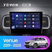 Автомагнитола Teyes CC3 4GB/64GB для Hyundai Venue 2019-2020, фото 1