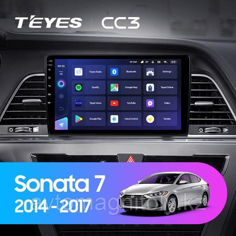 Автомагнитола Teyes CC3 4GB/64GB для Hyundai Sonata 2014-2017