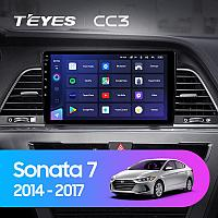 Автомагнитола Teyes CC3 4GB/64GB для Hyundai Sonata 2014-2017, фото 1