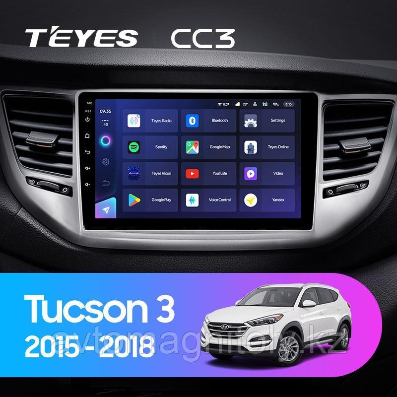 Автомагнитола Teyes CC3 4GB/64GB для Hyundai Tucson 2015-2018