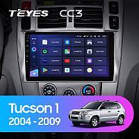 Автомагнитола Teyes CC3 4GB/64GB для Hyundai Tucson 2004-2009, фото 1