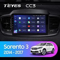 Автомагнитола Teyes CC3 4GB/64GB для Kia Sorento 2014-2017