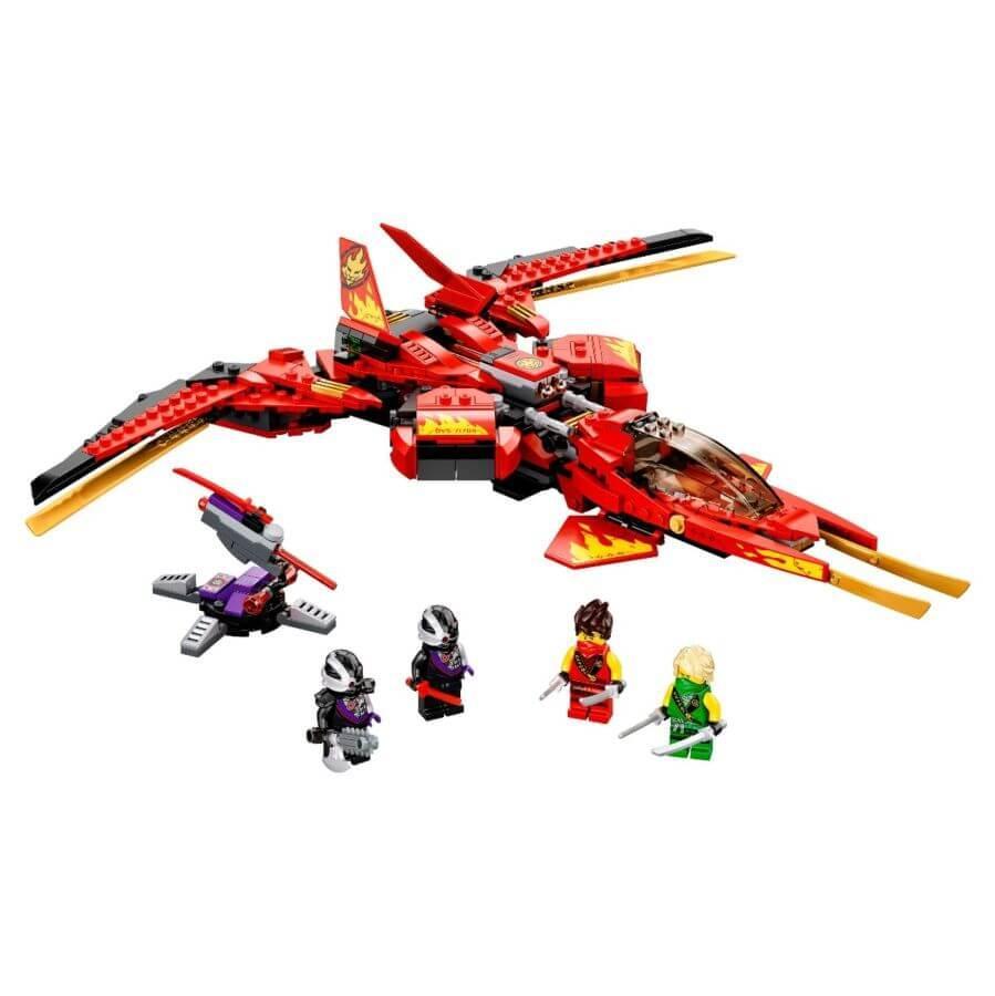 LEGO: Истребитель Кая Ninjago 71704 - фото 2