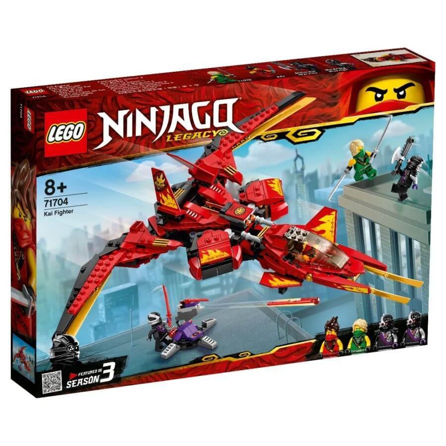 LEGO: Истребитель Кая Ninjago 71704 - фото 1