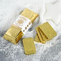 Шоколадные слитки «Чудес в Новом году», 60 г