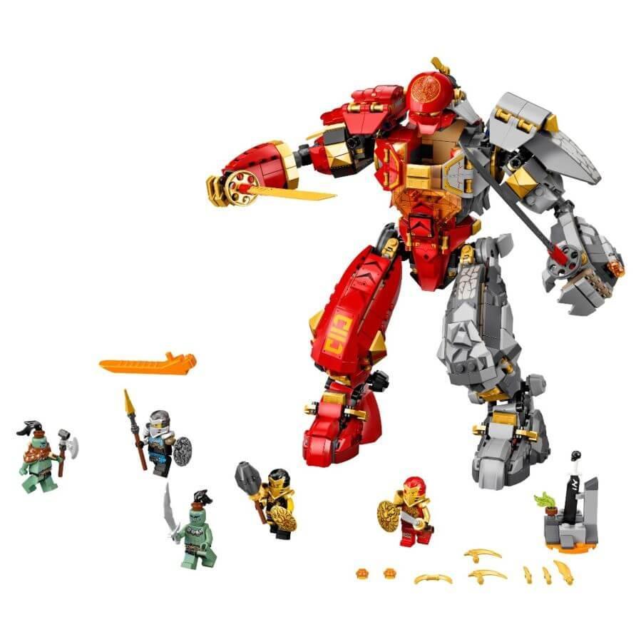 LEGO: Каменный робот огня Ninjago 71720 - фото 2