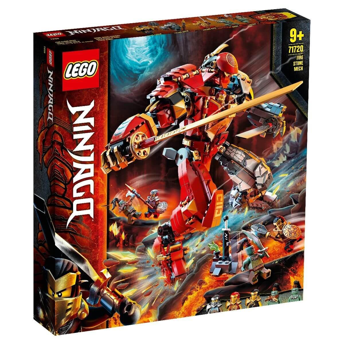 LEGO: Каменный робот огня Ninjago 71720 - фото 1