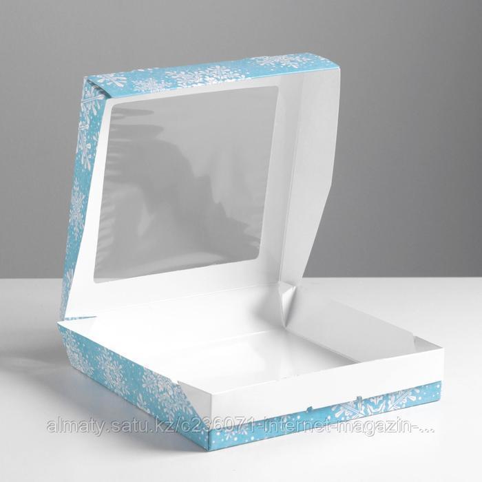 Коробка складная «Снежинки» - фото 2