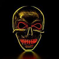 Карнавальная маска «Череп», световая, фото 1