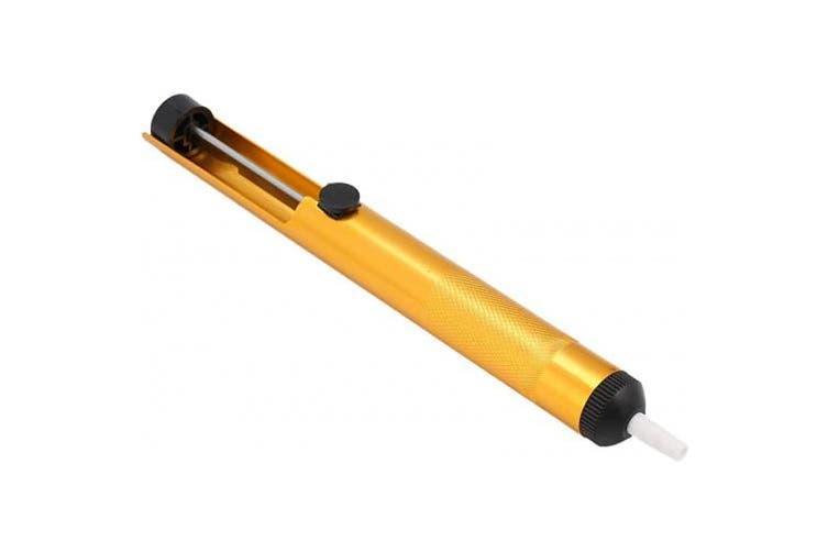 Вакуумный отсос припоя (оловоотcос) металлический CMT-136