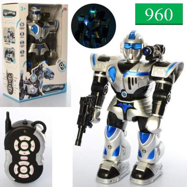 9897-1 Робот на р/у СТРАЖ, Свет,звук, 48*31см