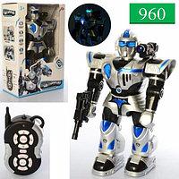 9897-1 Робот на р/у СТРАЖ, Свет,звук, 48*31см, фото 1