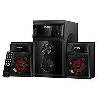 SVEN MS-302 акустическая система с проигрывателем USB/SD, FM-радио, дисплеем и ПДУ