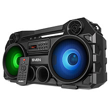 SVEN PS-580 акустическая система портативная многофункциональная с подсветкой