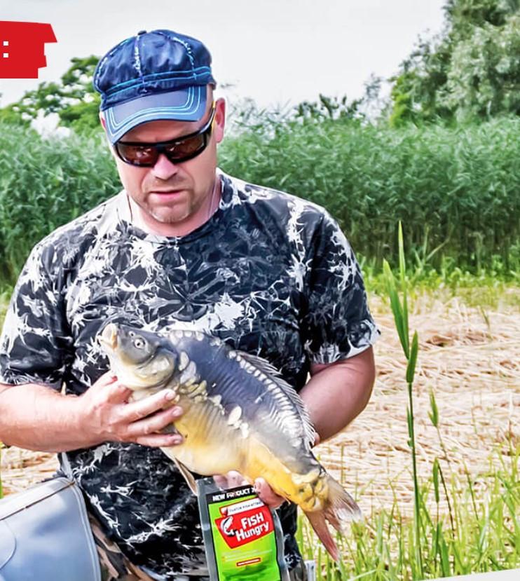 Активатор зимнего и летнего клева FishHungry (Фиш Хангри) голодная рыба - фото 3