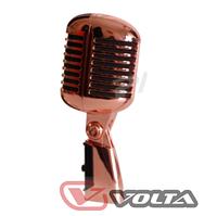 Сценический проводной микрофон ретро дизайна VINTAGE BRONZE