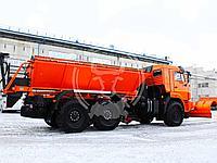 Комбинированная дорожная машина на базе шасси КАМАЗ 43118
