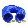 Шланг спираль синий 15 м 12*8