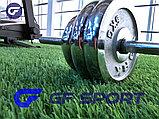 Набор гантелей со штангой сборная в чемодане York Fitness 50 кг доставка по Казахстану!, фото 2