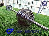Набор гантелей со штангой сборная в чемодане York Fitness 50 кг доставка по Казахстану!, фото 3