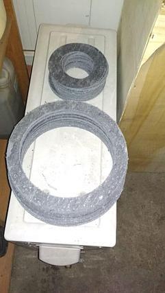 Прокладка паронитовая Ду 150, 3 мм, фото 2