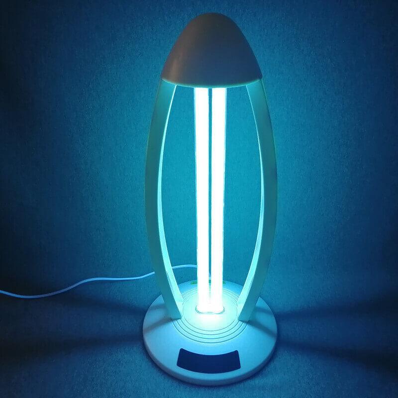 Бактерицидная УФ лампа с пультом ДУ и таймером работы MC-UV-38W