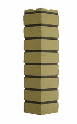 Угол Наружний Песочный 589х155х155 мм Баварский кирпич Дачные FINEBER