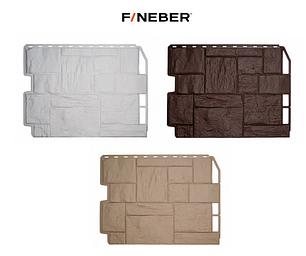 Фасадные панели Туф 795х595 мм (0,41 м2) ДАЧНЫЙ FINEBER