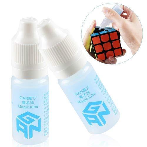 Силиконовая смазка Gan для кубиков Рубика. 10 мл. Качество. Оригинал