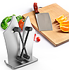 Точилка для кухонных ножей Bavarian Edge Knife Sharpener, фото 3