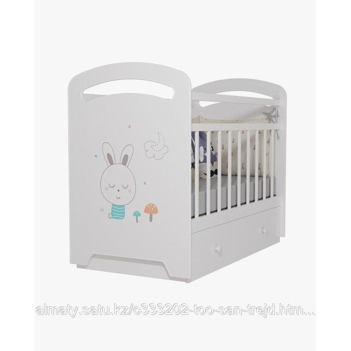 Кровать детская Lucy с ящиком (бежевый)