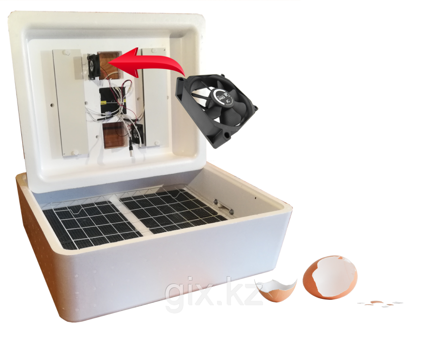 Инкубатор Несушка на 104 яйца (с вентилятором)
