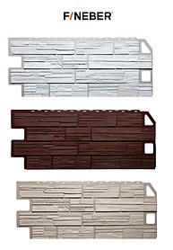 Фасадные панели Сланец 1130x470 мм ДАЧНЫЙ FINEBER