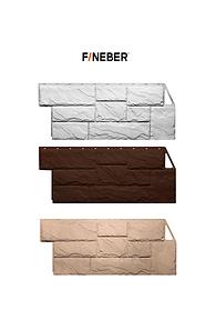 Фасадные панели Крупный камень 1080x452 мм ДАЧНЫЙ FINEBER