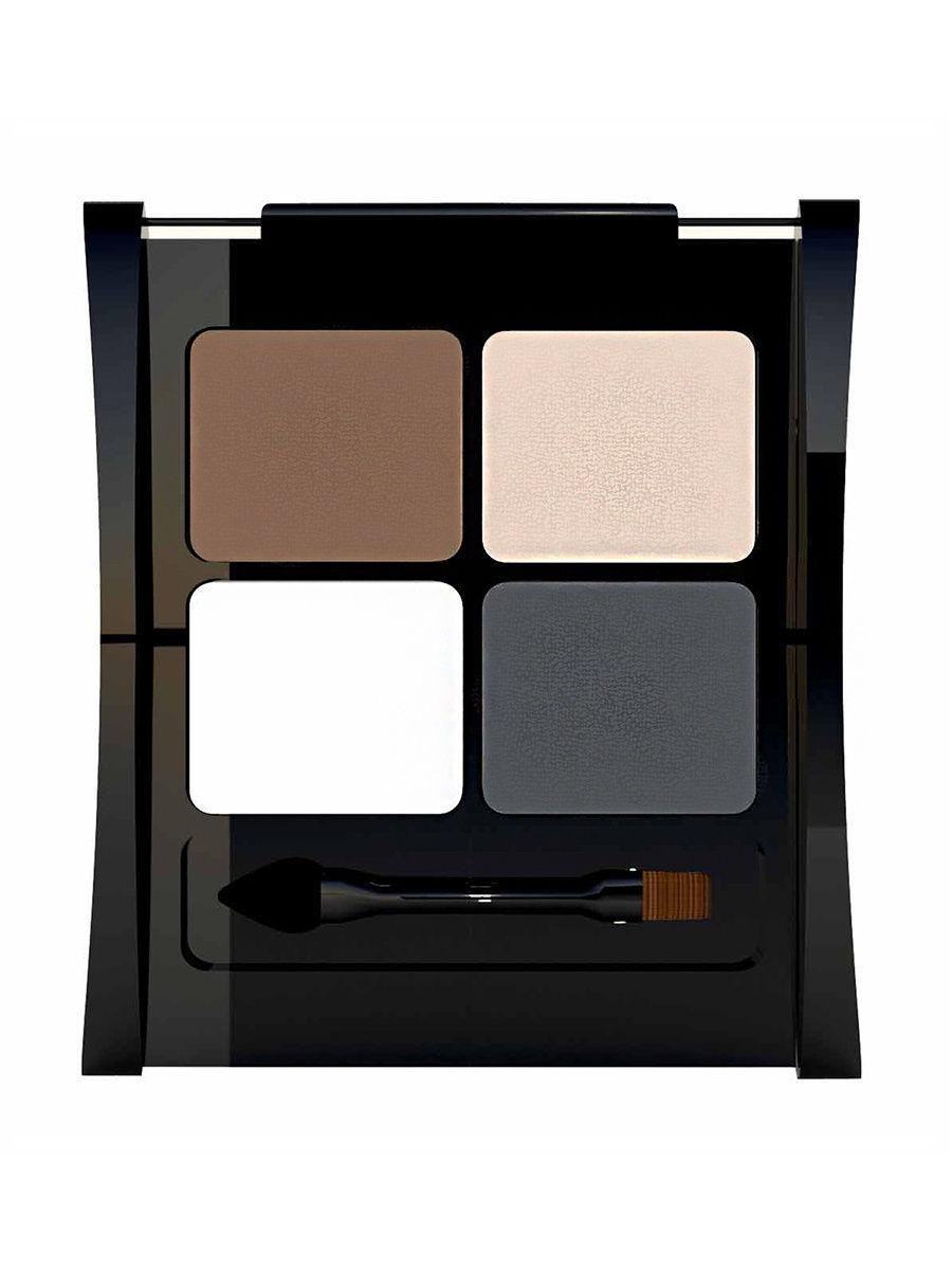 LiLo / Набор для моделирования бровей LiLo Eyebrow Designer,тон 1003Цвет: коричневый, темно-серый, светло-беж