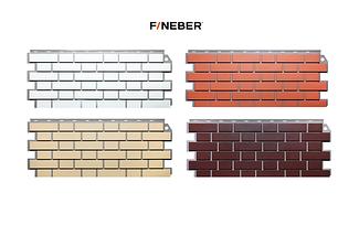 Фасадные панели Кирпич клинкерный 1131x463 мм (0,47 м2) ДАЧНЫЙ FINEBER