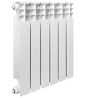 Радиатор биметаллический, с межосевым расстоянием 500мм BIPLUS DUNE 500 L /01