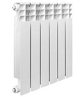 Алюминиевый радиатор, с межосевым расстоянием 500мм, 1 секция