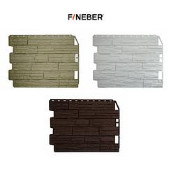 Фасадные панели Скол 795х595 мм (0,41 м2) ДАЧНЫЙ FINEBER