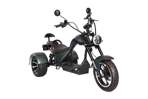 Электроскутер Citycoco SkyBoard Trike Chopper 2000 - фото 1