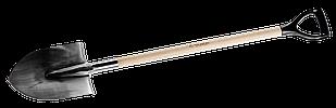 Лопаты штыковые с деревянным черенком
