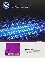 Набор наклеек Q2009A HPE LTO-4 Ultrium Read/Write Bar Code Label Pack