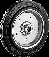 Колеса из литой резины с металлическим диском