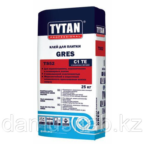 Клей плиточный (25) TYTAN GRES