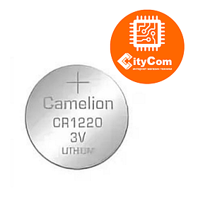 Батарейка, таблетка 1220 CAMELION, CR1220-BP5 Lithium Battery, CR1220 3V Арт.6659
