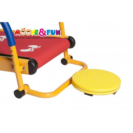 """Тренажер детский механический """"Беговая дорожка с диском-твист"""" 3-8 лет  (SH-01-T), фото 2"""
