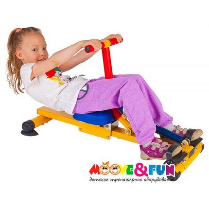Тренажер детский механический гребной с одной рукояткой 3-8 лет  (SH-04-A), фото 2